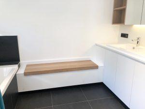 Ynteriors interieur schrijnwerker Rotselaar badkamer